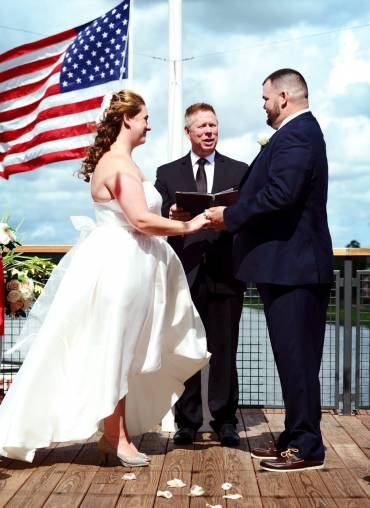 Intimate Wedding at Paddlefish