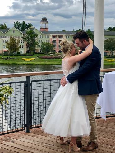 Disney Springs Wedding